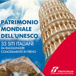 Travel Book Trenitalia: Patrimonio Mondiale Unesco
